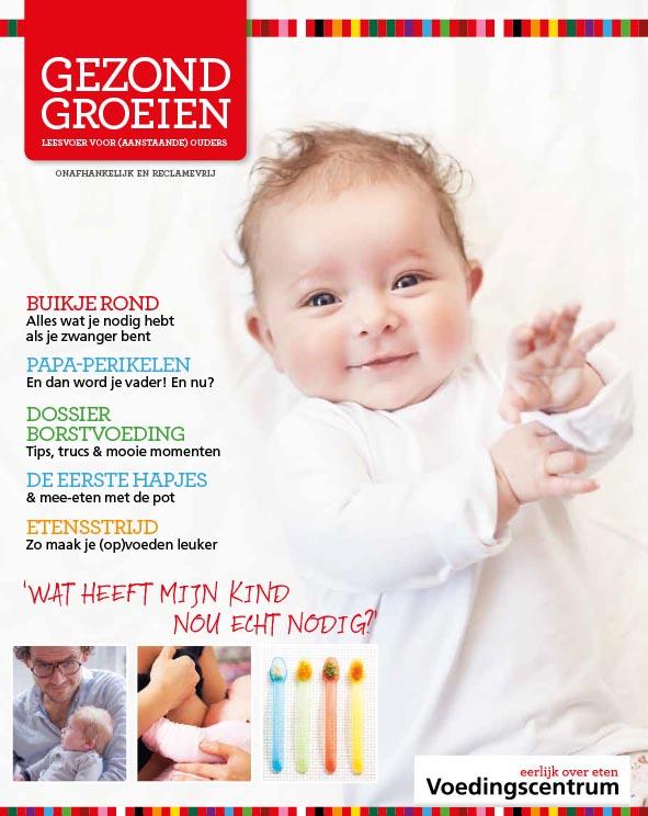 Gezond Groeien - Infozine van het Voedingscentrum